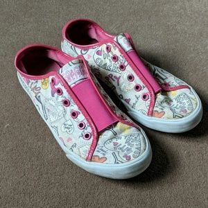 Coach Poppy Graffiti Slip Ons